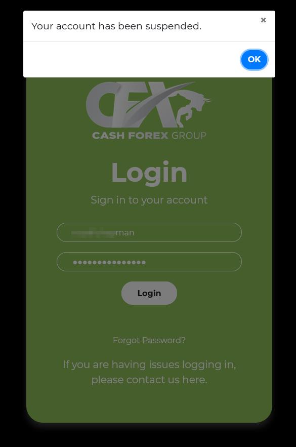 CFX Personal Account Termination